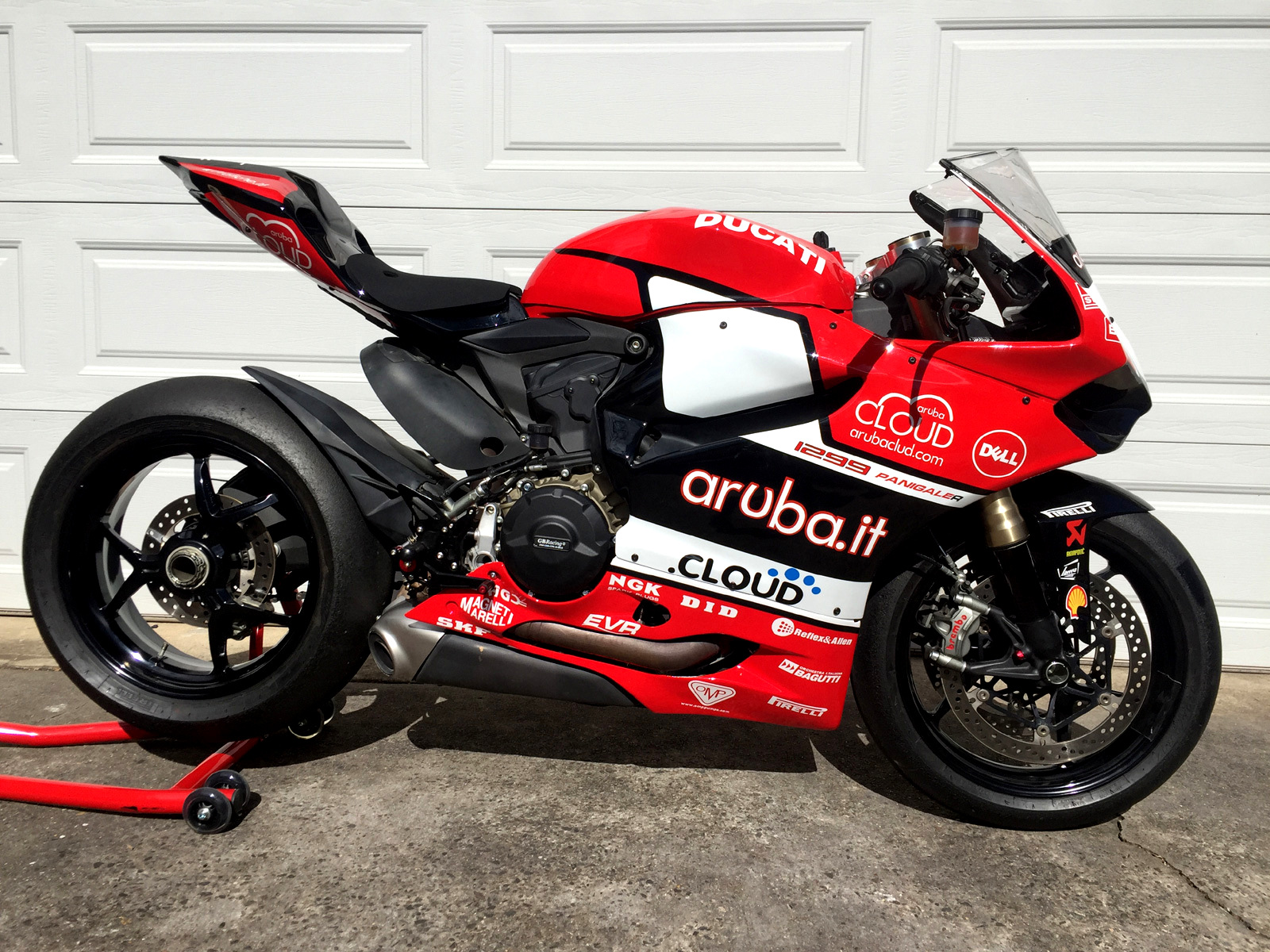 Panigale 1299 Track Bike Sold